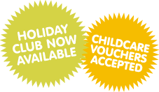 Childcare vouchers accepted